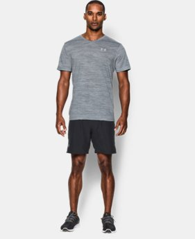 Men's UA Streaker Run V-Neck T-Shirt LIMITED TIME: FREE SHIPPING  $39.99
