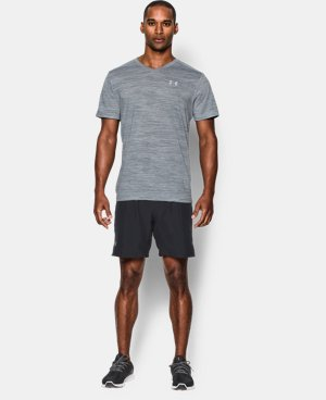 Men's UA Streaker Run V-Neck T-Shirt  1 Color $39.99
