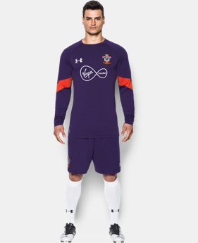 Men's Southampton 16/17 Goalkeeper Replica Jersey  1 Color $95