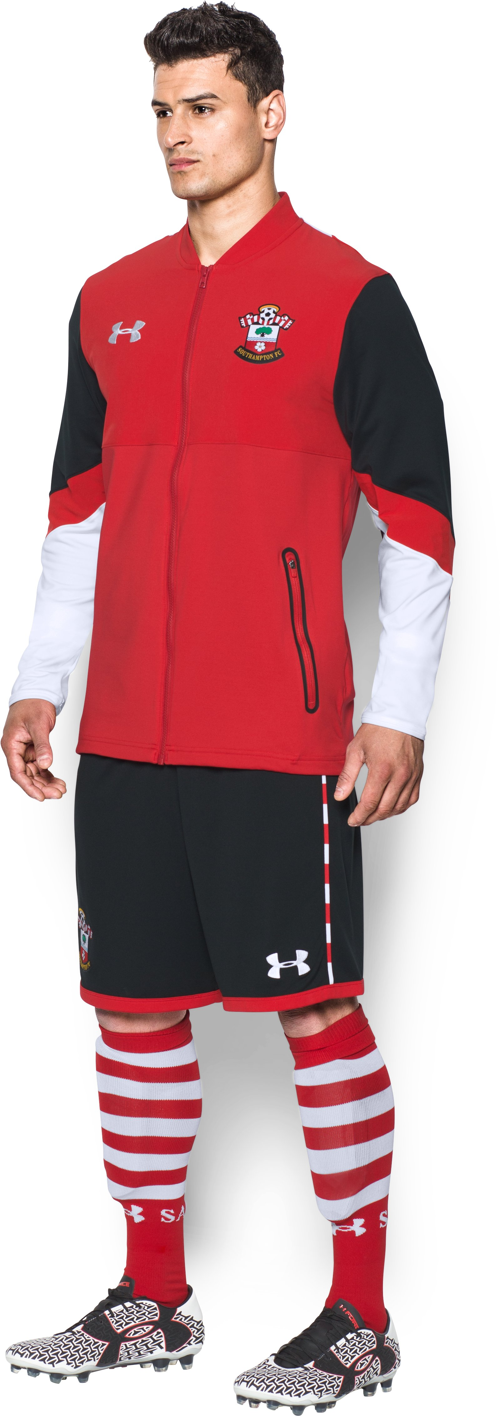 Men's Southampton UA Storm Stadium Jacket, Red, undefined