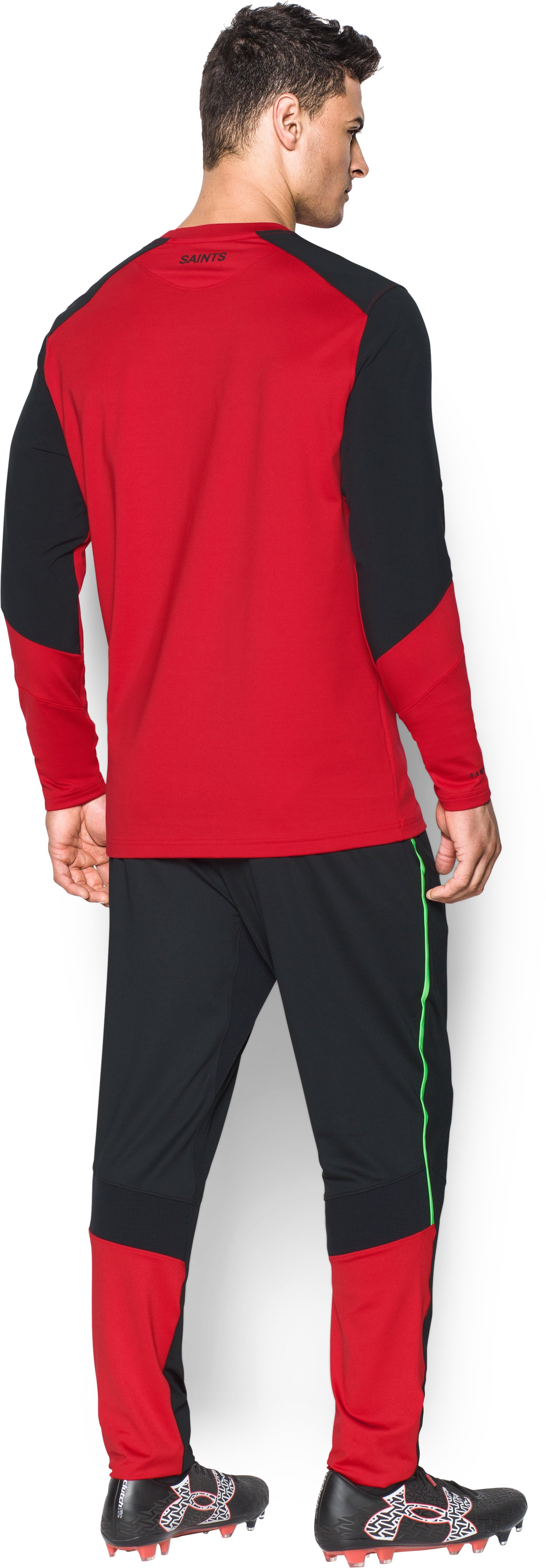 Men's Southampton UA Storm Midlayer , Red, Back