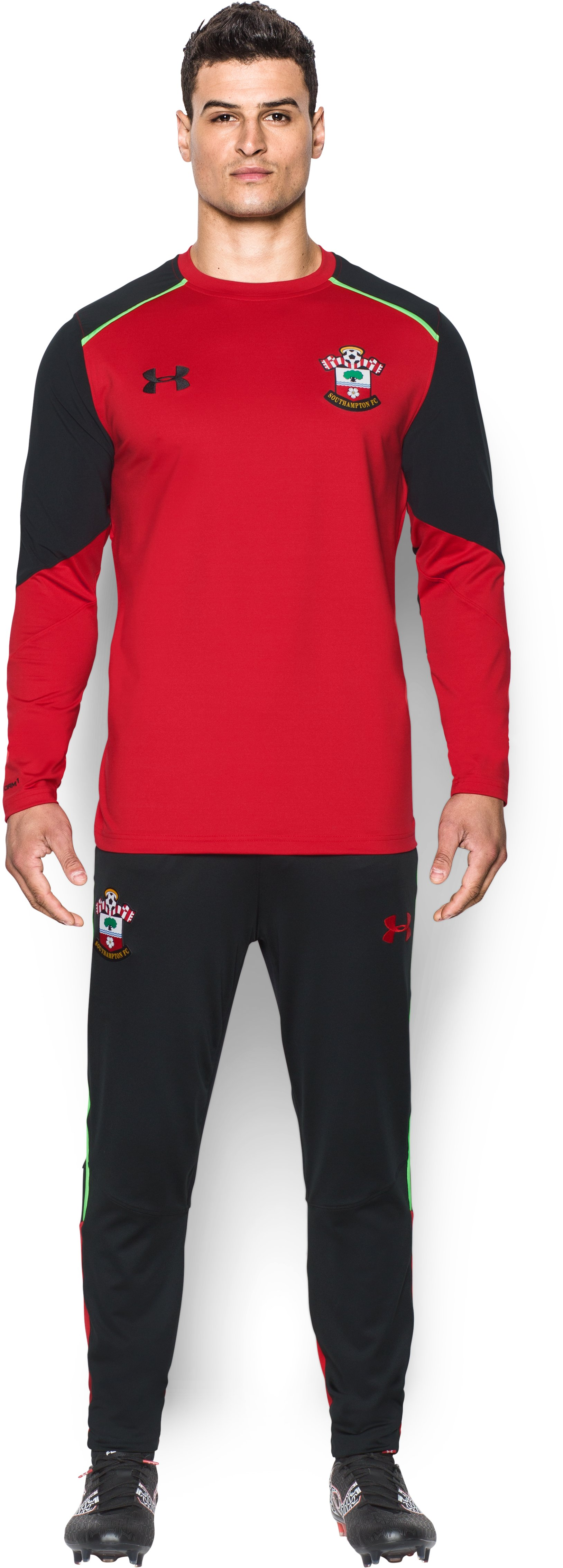 Men's Southampton UA Storm Midlayer , Red, Front