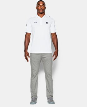 Men's Navy UA Huddle Polo