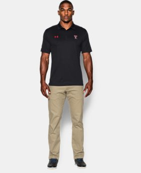 Men's Texas Tech UA Huddle Polo