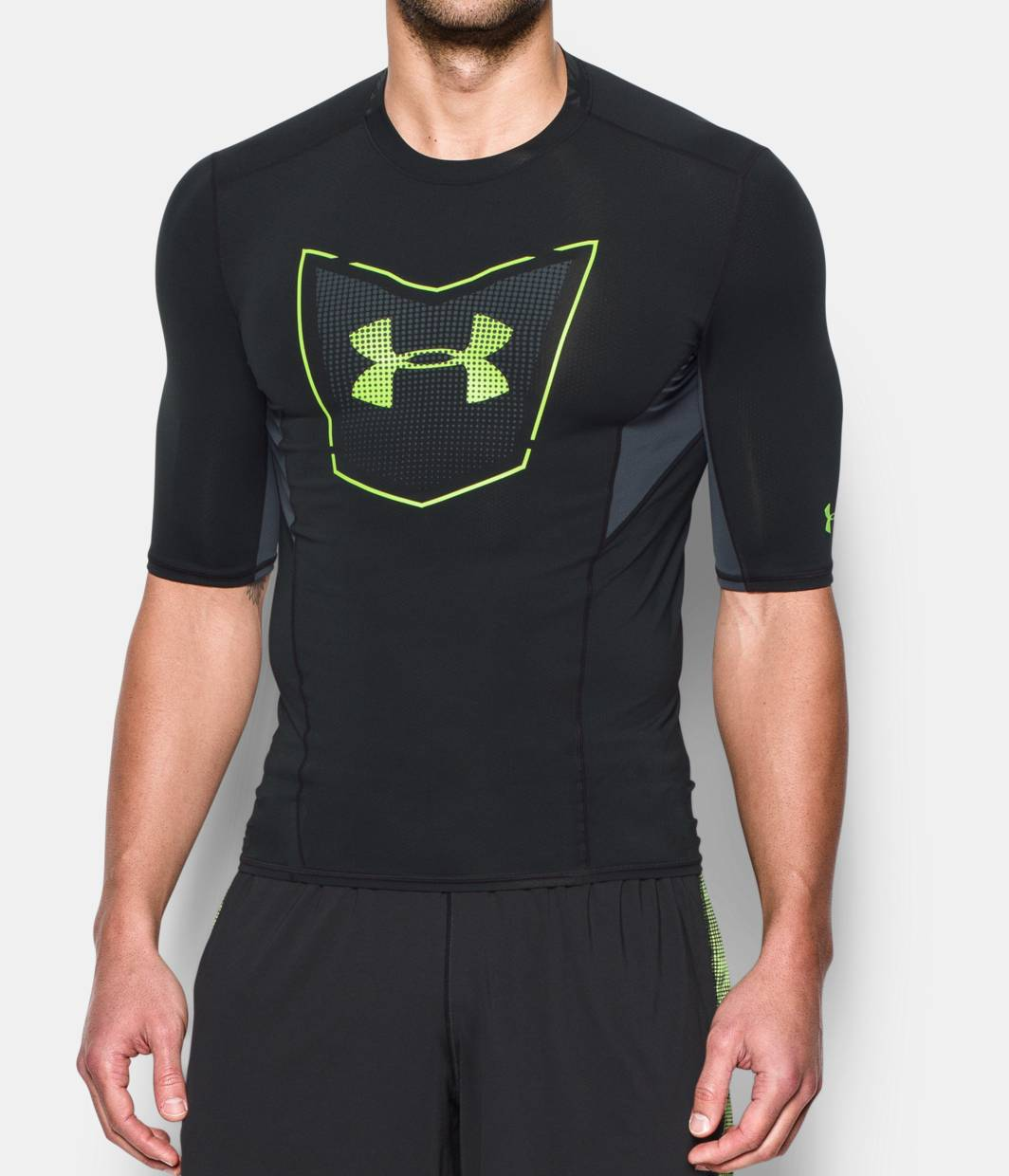 Men 39 S Ua Football Coolswitch Sleeve Compression Shirt