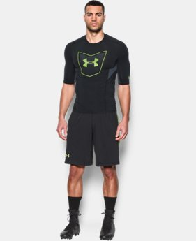 Men's UA Football CoolSwitch ½ Sleeve Compression Shirt LIMITED TIME: FREE SHIPPING 2 Colors $44.99