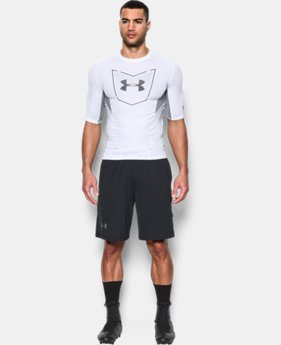 Men's UA Football CoolSwitch ½ Sleeve Compression Shirt   $44.99