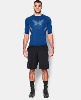 Men's UA Football CoolSwitch ½ Sleeve Compression Shirt   $39.99