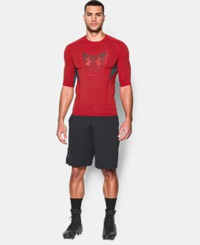 Men's UA Football CoolSwitch ½ Sleeve Compression Shirt  1 Color $23.99