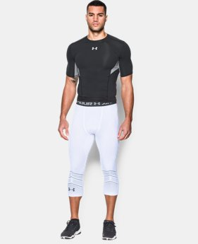 Men's UA CoolSwitch Armour Football Compression ¾ Legging