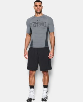 Men's UA Football Armour® Short Sleeve Compression Shirt LIMITED TIME: FREE SHIPPING  $34.99