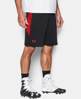 Men's UA Football Training Shorts  1 Color $20.24