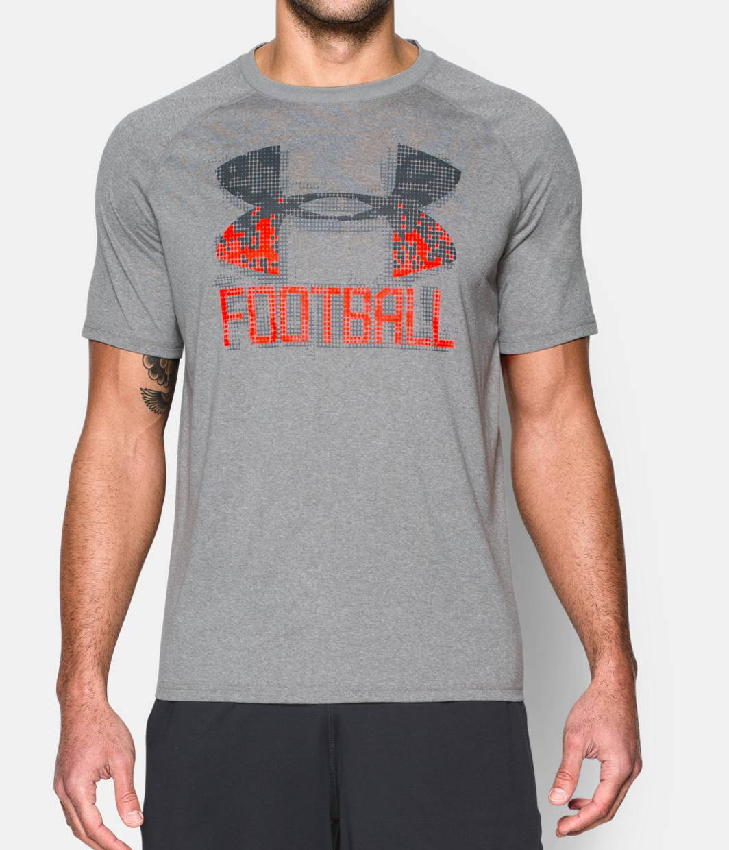 Men s ua football icon t shirt under armour us for Under armor football shirts