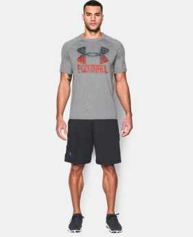 New Arrival Men's UA Football Icon T-Shirt LIMITED TIME: FREE SHIPPING  $32.99
