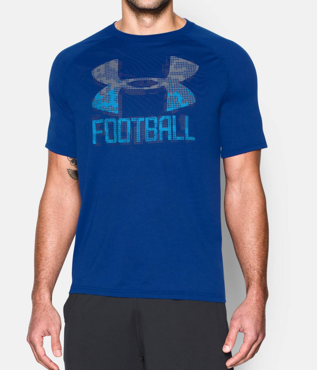 Men s ua football icon t shirt under armour ca for Under armor football shirts