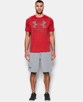 New Arrival Men's UA Football Icon T-Shirt LIMITED TIME: FREE SHIPPING 1 Color $27.99