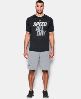 New Arrival Men's UA Speed All Day T-Shirt  1 Color $27.99