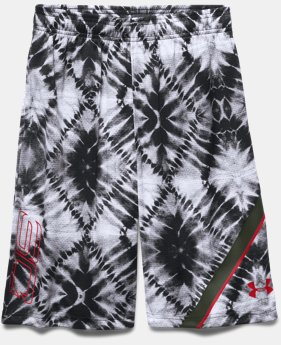 Boys' SC30 Essentials Printed Basketball Shorts