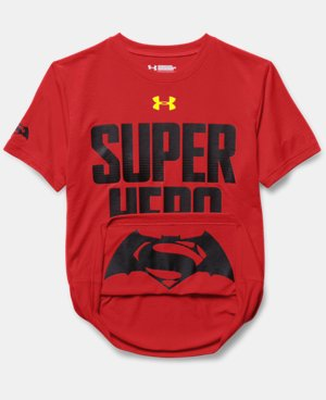 Boys' Under Armour® Alter Ego Superman/Batman Reversible T-Shirt  1 Color $26.99