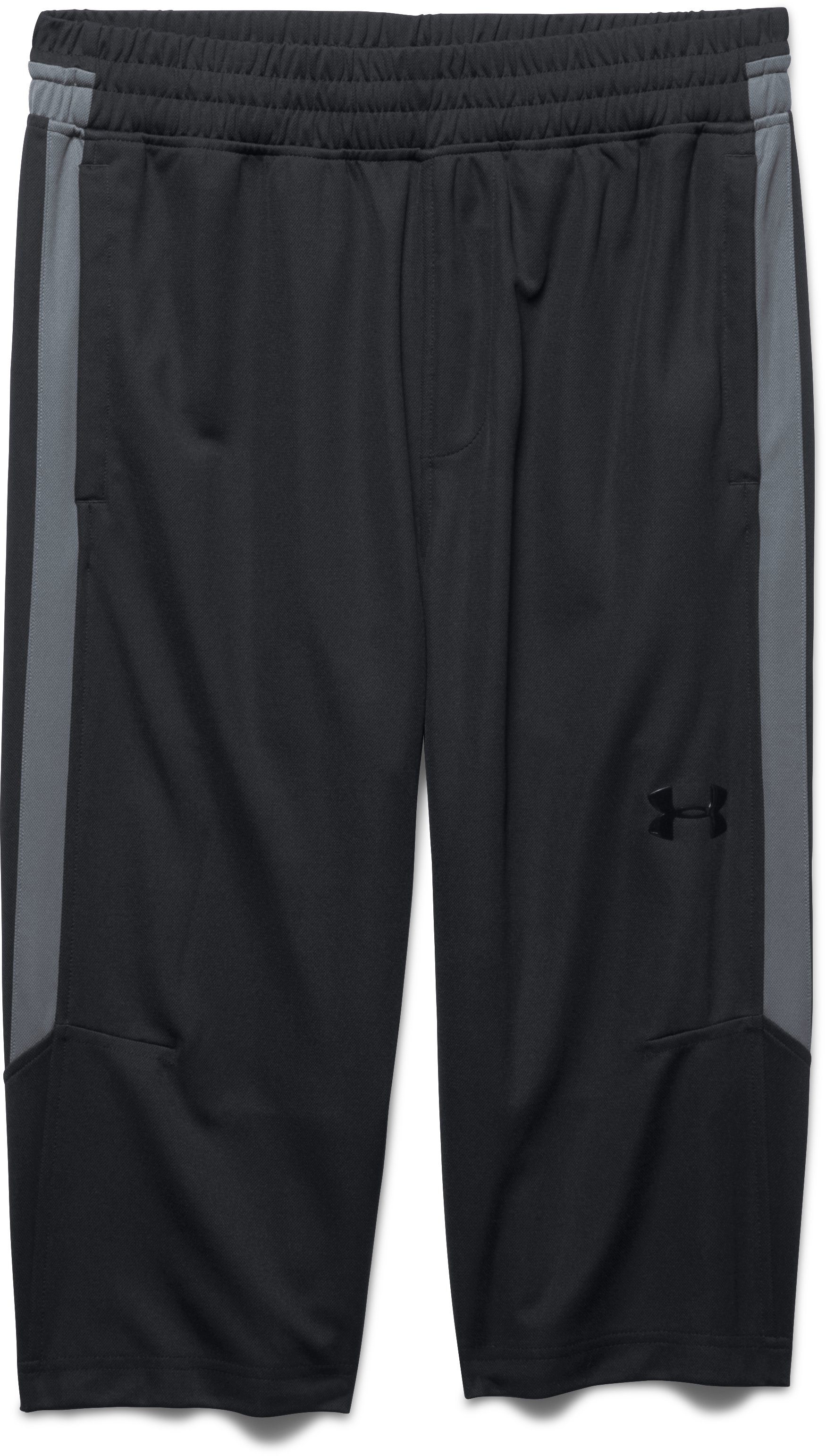 Men's UA Select ½ Pants, Black , Laydown