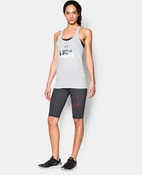 Women's UA Favorite Outline Knee Capri LIMITED TIME: FREE U.S. SHIPPING 1 Color $17.99 to $29.99