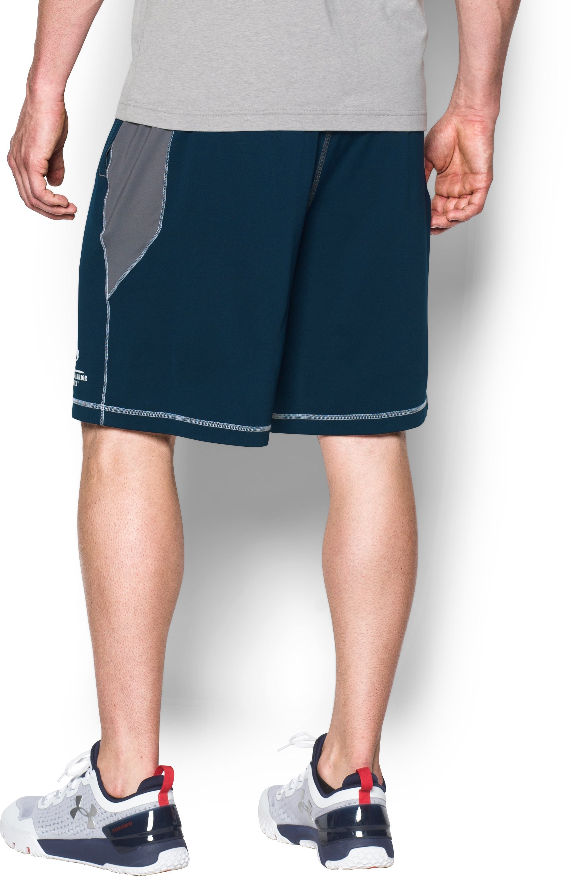 Men's UA WWP Raid Shorts, Academy, undefined