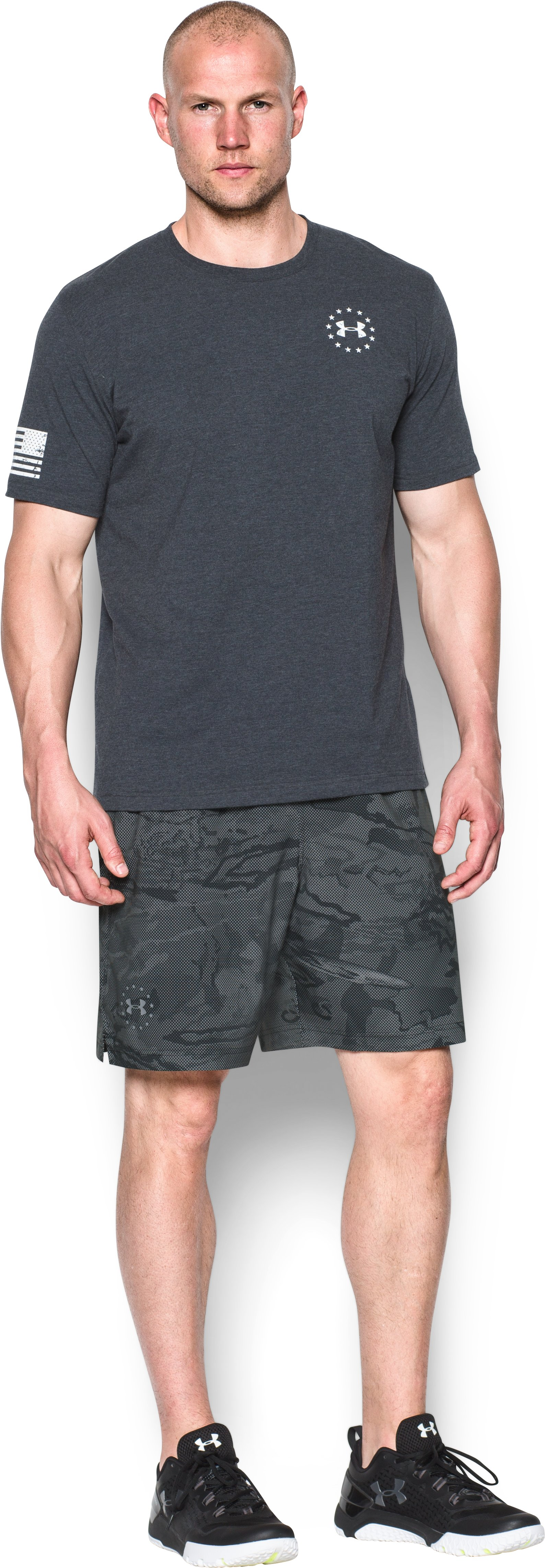 Men's UA Freedom Armourvent™ Shorts, Black