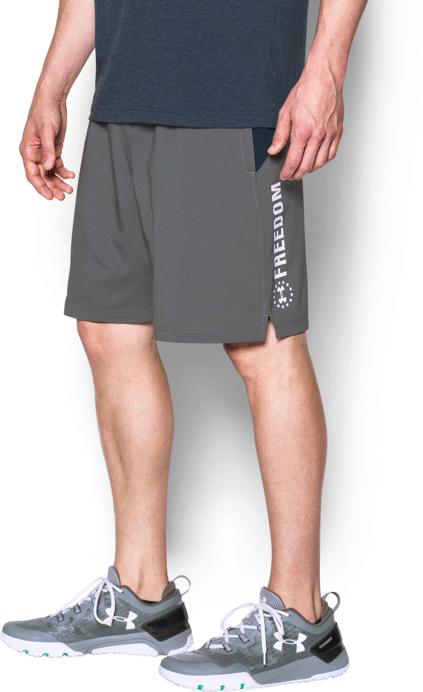 Men's UA Freedom Armourvent™ Shorts, Graphite