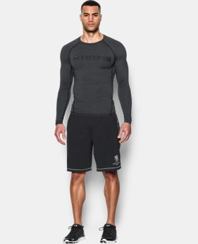 Men's UA Freedom HeatGear® Armour Long Sleeve Compression Shirt  1 Color $34.99