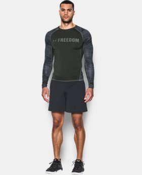 Men's UA Freedom HeatGear® Armour Long Sleeve Compression Shirt