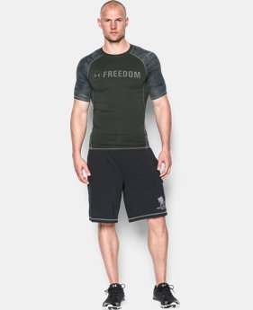 Men's UA Freedom HeatGear® Armour Short Sleeve Compression Shirt LIMITED TIME: FREE SHIPPING 1 Color $15.74