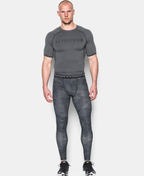 Men's UA Freedom HeatGear® Armour Compression Leggings  2 Colors $44.