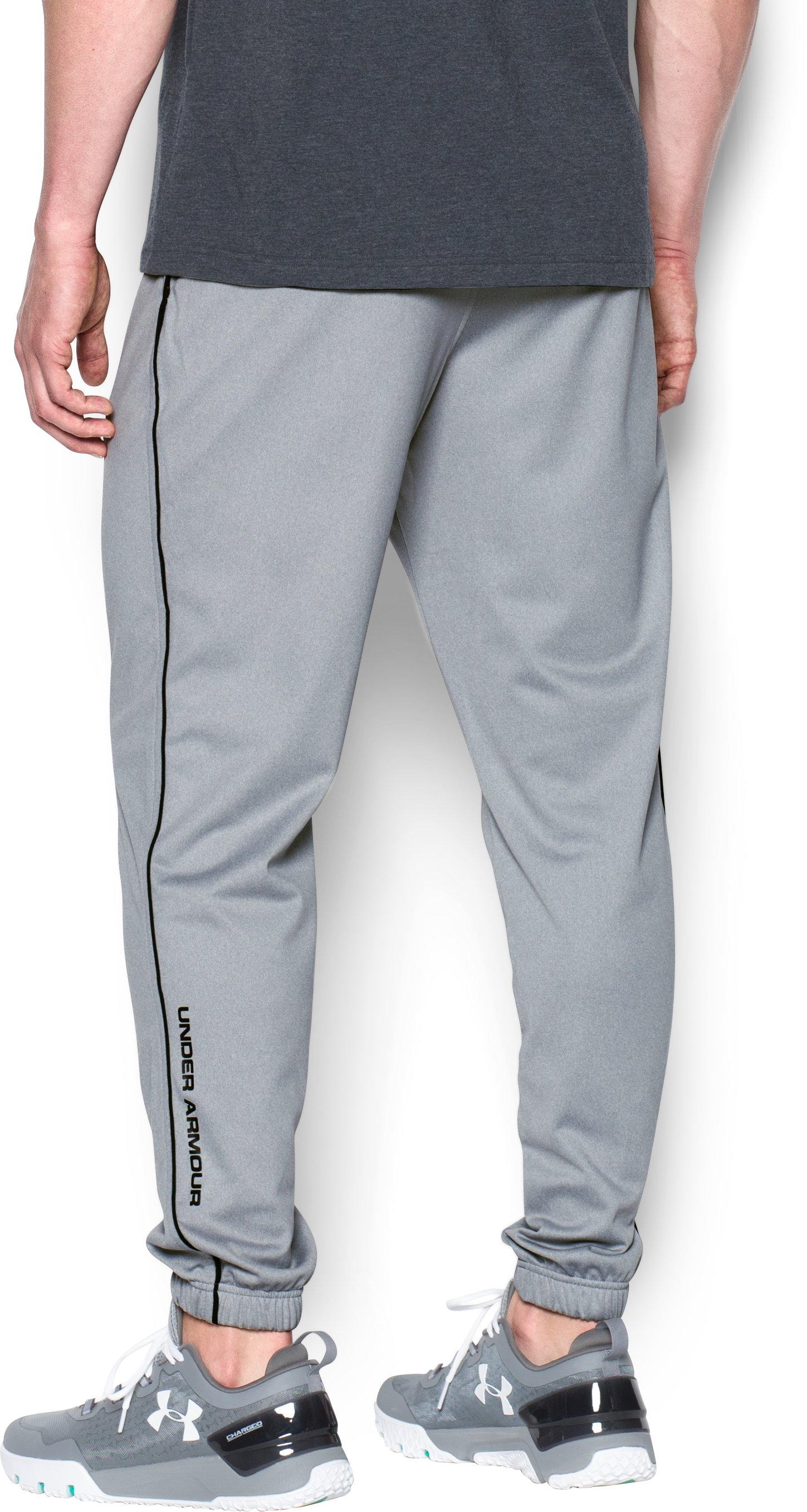 Men's UA Freedom Joggers, True Gray Heather, undefined