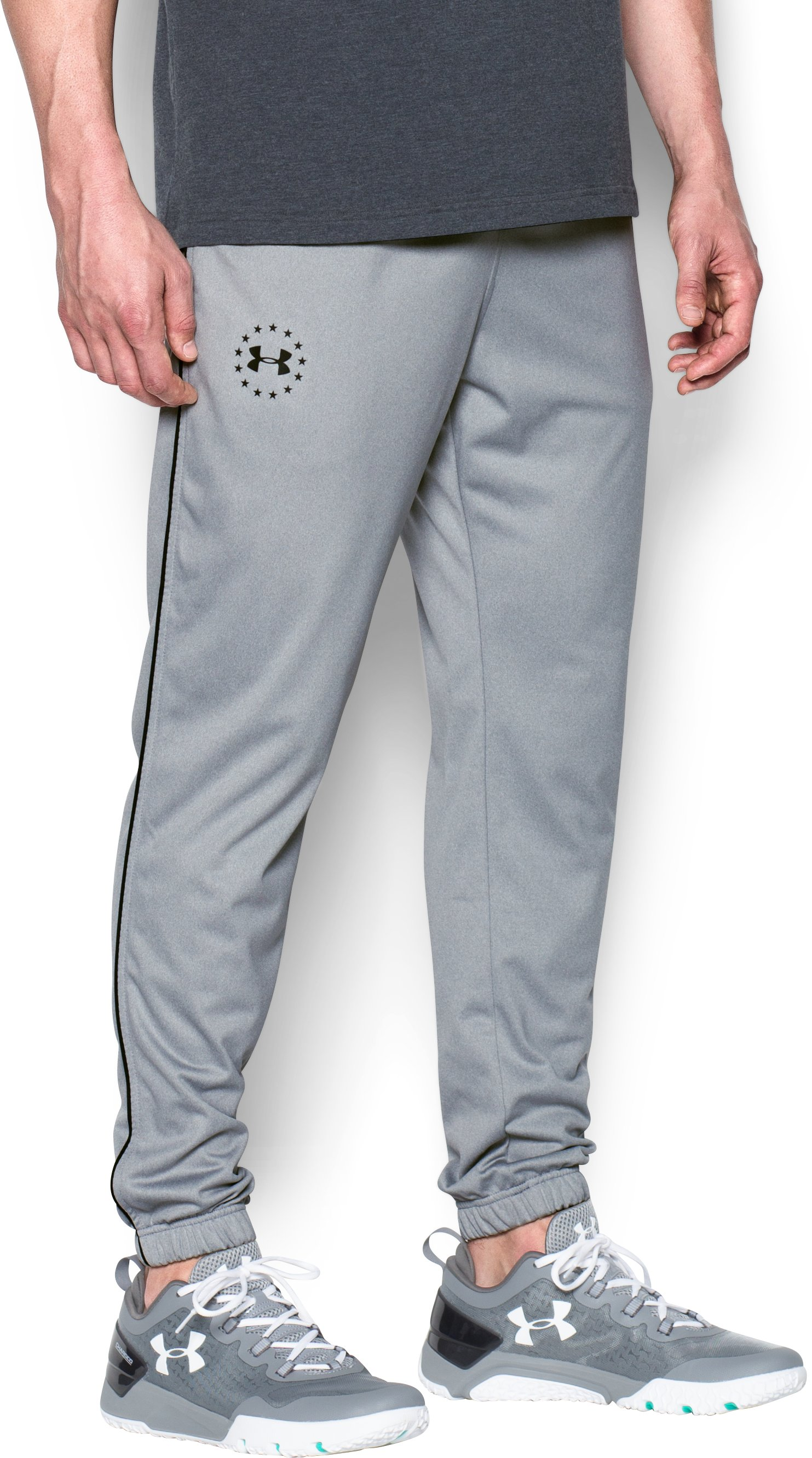 Men's UA Freedom Joggers, True Gray Heather