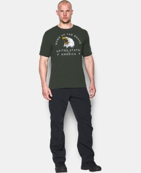 Men's UA Freedom Home Of The Brave T-Shirt LIMITED TIME: FREE SHIPPING 1 Color $24.99