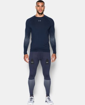 New Arrival  Men's UA Purestrike Grippy Fitted Long Sleeve LIMITED TIME: FREE SHIPPING  $69.99