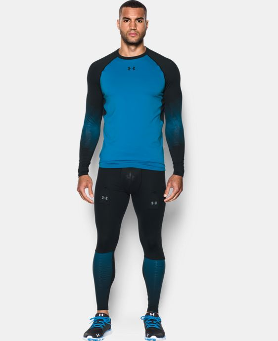 Men's UA Purestrike Grippy Fitted Long Sleeve  3 Colors $69.99