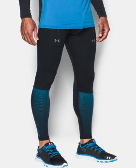 New Arrival  Men's UA Purestrike Grippy Fitted Leggings  2 Colors $69.99