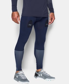 New Arrival Men's UA Purestrike Grippy Fitted Leggings  1 Color $59.99