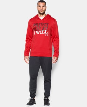 New Arrival  Men's UA Protect Home Ice Hoodie  1 Color $69.99