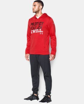 New Arrival Men's UA Protect Home Ice Hoodie  1 Color $59.99