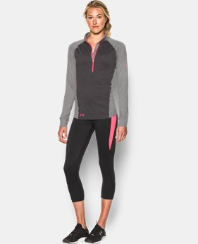 Women's UA Tech™ Freedom ½ Zip LIMITED TIME: FREE SHIPPING 1 Color $44.99