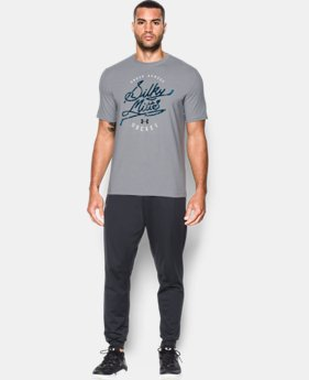 Men's UA Silky Mitts T-Shirt LIMITED TIME: FREE SHIPPING  $29.99