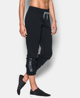 Women's UA Favorite Fleece Freedom Pant LIMITED TIME: FREE U.S. SHIPPING 1 Color $54.99
