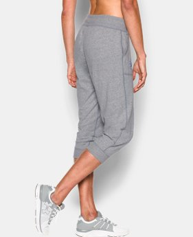 Women's UA Charged Cotton® Tri-Blend Freedom Capri