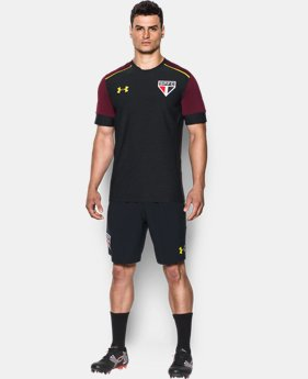 Men's São Paulo 16/17 Short Sleeve Training Shirt LIMITED TIME: FREE SHIPPING 1 Color $55