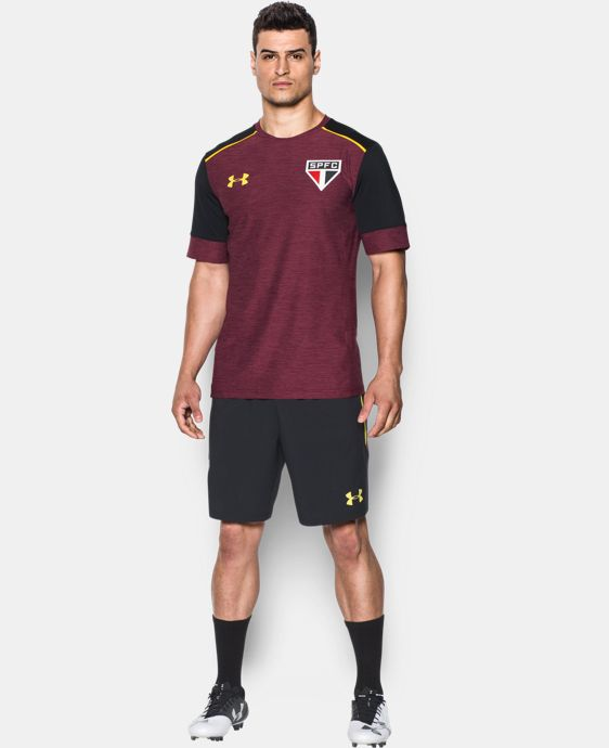 Men's São Paulo 16/17 Short Sleeve Training Shirt LIMITED TIME: FREE U.S. SHIPPING 1 Color $55