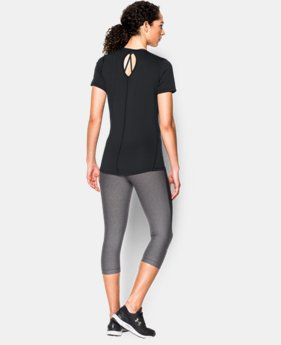 Women's UA HeatGear® CoolSwitch Short Sleeve LIMITED TIME: FREE SHIPPING 2 Colors $39.99