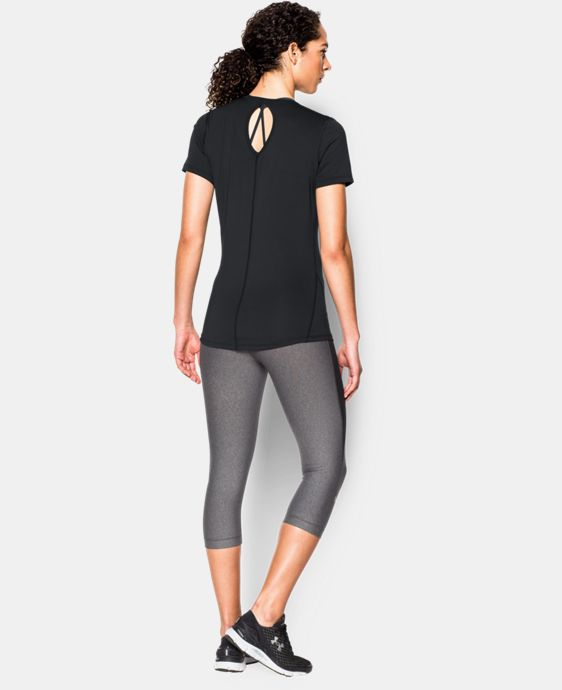 Women's UA HeatGear® CoolSwitch Short Sleeve LIMITED TIME: FREE SHIPPING 2 Colors $26.99