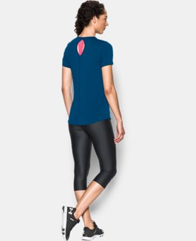 Women's UA HeatGear® CoolSwitch Short Sleeve
